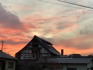 夕焼け空の写真・画像素材[3414443]