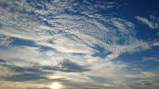 空の雲の群の写真・画像素材[3325694]