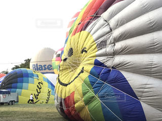 smile熱気球の写真・画像素材[770704]