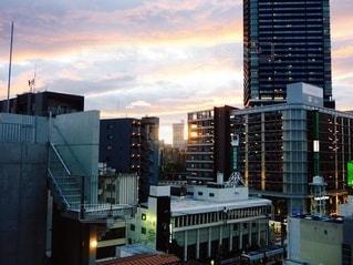 夕焼け空の写真・画像素材[3394778]