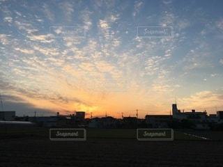 夜明けの姿の写真・画像素材[3339056]