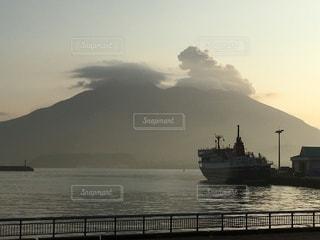 桜島②冬の朝-の写真・画像素材[3340616]