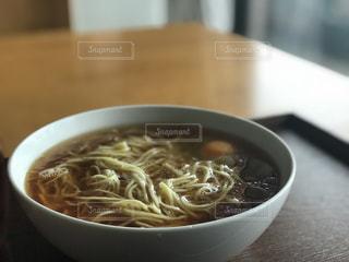 食事,ランチ,うどん,スープ,麺,おかわり,のり