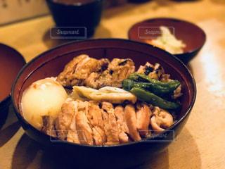 焼き鳥丼の写真・画像素材[746973]