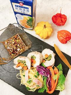 食べ物,野菜,健康的,簡単レシピ,清酒,本みりん,タカラ,タカラ料理手帳,料理美味しくなる,蒸し鶏野菜ロール巻き