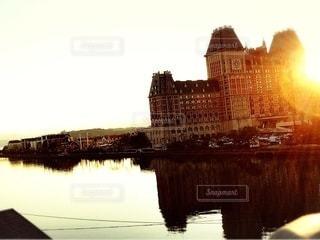 城が輝くの写真・画像素材[3395584]
