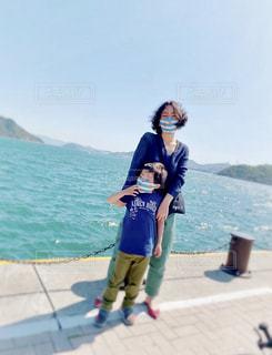 青い海の写真・画像素材[3538175]