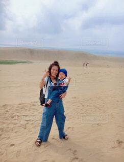 鳥取砂丘の写真・画像素材[3820823]