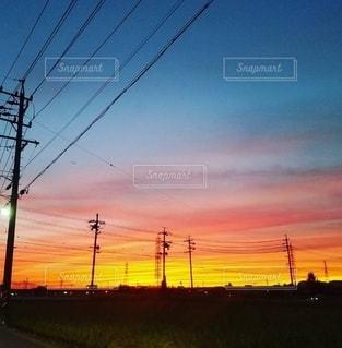 夕焼けの写真・画像素材[3353021]