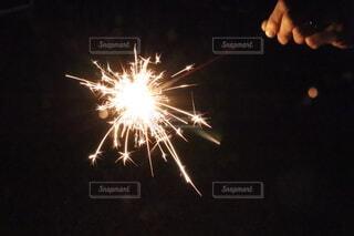 手持ち花火の写真・画像素材[4659654]
