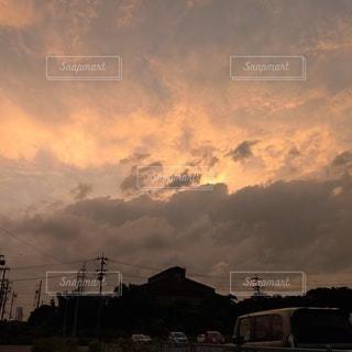 空の雲の群の写真・画像素材[3396572]