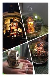 ステイホーム中のドールハウス製作♪パート2の写真・画像素材[3389520]
