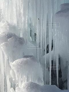 氷柱の写真・画像素材[3367610]