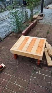 子ども用テーブルの写真・画像素材[3353867]