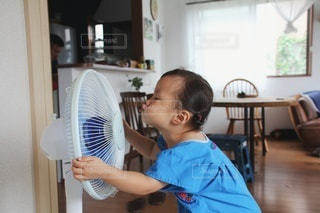 暑い夏を吹き飛ばせの写真・画像素材[3452273]