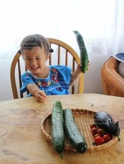 野菜とった!の写真・画像素材[3452276]