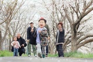 家族写真の写真・画像素材[4095589]