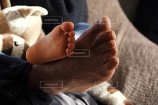 孫と子の写真・画像素材[4194625]