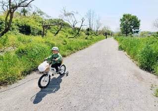 サイクリングの写真・画像素材[4436417]