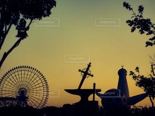 太陽の塔の写真・画像素材[3404683]