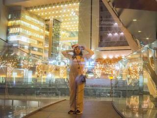 樹木,イルミネーション,クリスマス,明るい,通り,グランフロント大阪,シャンパンゴールド,ファッションアクセサリー,グランフロントクリスマス,GrandWishChristmas2020