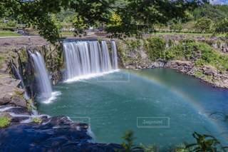 原尻の滝の写真・画像素材[3407187]
