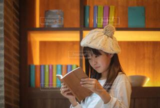 読書の秋の写真・画像素材[3749457]