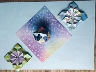 大好きな折り紙の写真・画像素材[3383236]