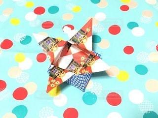 折り紙の小物入れの写真・画像素材[3384309]