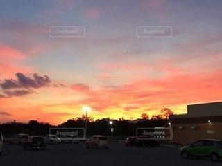 日没の前の写真・画像素材[3399179]