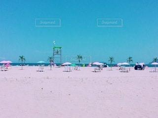 真夏の砂浜の写真・画像素材[3435824]