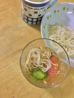 夏は素麺の写真・画像素材[3523912]