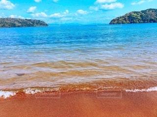 夏の琵琶湖の写真・画像素材[3376392]