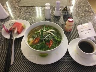 ベトナムのホテルの朝食すの写真・画像素材[3362853]