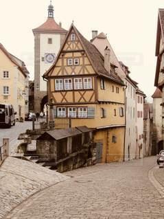 ドイツの街並みの写真・画像素材[3363912]