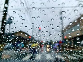 雨の日の写真・画像素材[3716685]