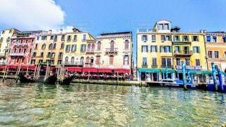 ベネチアの街並みの写真・画像素材[3373941]