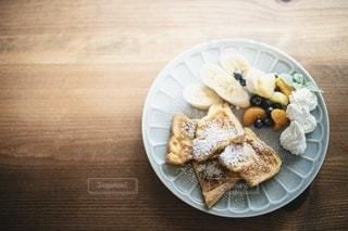 特製フレンチトーストの写真・画像素材[3375079]