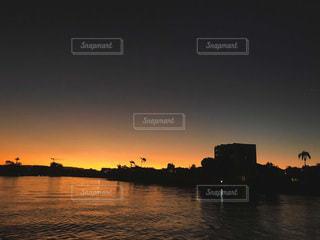 夕日の写真・画像素材[3396055]