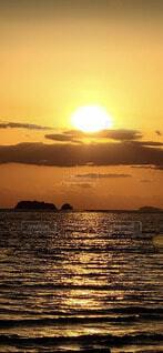 自然,風景,空,屋外,朝日,雲,水面,海岸,正月,お正月,日の出,新年,初日の出
