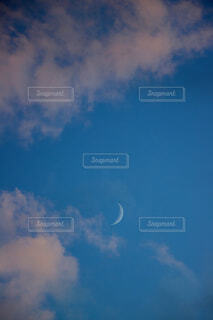 自然,風景,空,屋外,雲,青,月,くもり
