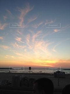 夕暮れの空模様の写真・画像素材[3379327]