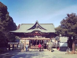 秩父神社の写真・画像素材[3385001]