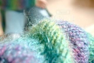 もこもこお気に入りセーターの写真・画像素材[3968836]