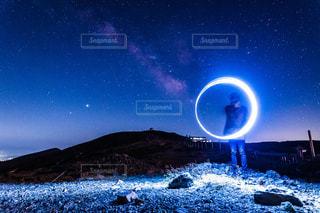 夜空の写真・画像素材[3586499]