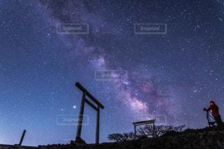 星撮りの写真・画像素材[3586500]