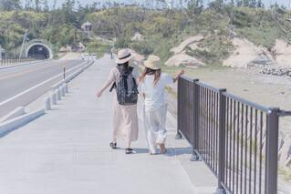 海沿い散歩の写真・画像素材[4228408]