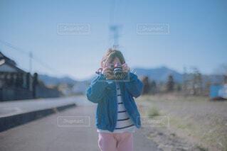 カメラデビューの写真・画像素材[4535747]