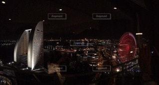 みなとみらい夜景の写真・画像素材[3386979]