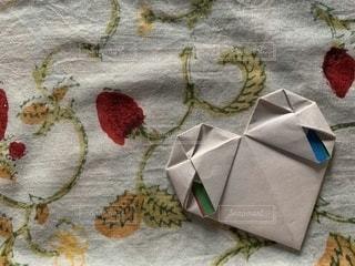 ハートの手紙の写真・画像素材[3399397]